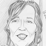 Pencil caricature picture
