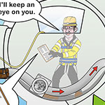 SSE confined spaces health and safety poster
